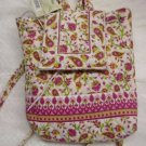QUILTED Petite Backpack Handbag Pink Ivory Green Small NWT
