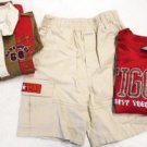 SHORTS TOPS SET OUTFIT Boy's 4T Authentic Disney Tiger Winnie Pooh Beige Red NWT