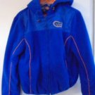 UNIVERSITY OF FLORIDA UF Jacket Hooded Youth Boy Girl XL Warm Blue Orange Lined