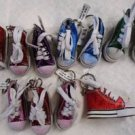 SNEAKER KEY RING KEY CHAIN Party Favors 11 Pce DEFECTIVE Red Blue Green Pink NWT