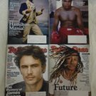 ROLLING STONE MAGAZINE LOT Of 4 Muhammad Ali Issues 1258, 1265/66, 1264, 1263