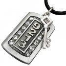 Cool Dog Tag Necklace - The Key