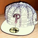 "New Era 59Fifty Fitted cap Brown Phillies ""P"" 7.5"