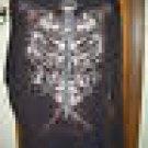 Eddie Domani Graffiti T-Shirt L/S Sz 4X Brown