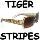Tiger Stripes Sunglasses - Unisex
