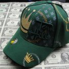 Tom Hill Green Cap Gold Crown