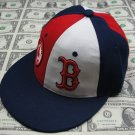 Men's Boston B Cap Red/Wht/Blu Small