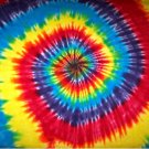 Custom Tie Dye Baby Hippie Newborn Infant Receiving Blanket Cotton Flannel Approx. 36 in X 36 in