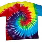 Custom Tie Dye Hippie Adult Big Short Sleeve T Shirt 2X 3X 4X 5X 6X Plus Size Hand Dyed Tiedye