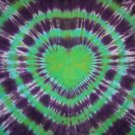 Custom Tie Dye Baby Hippie Newborn Infant Cotton Thermal Receiving Blanket Approx. 30 in X 40 in