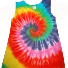 Custom Tie Dye Baby Hippie Toddler Play Dress Hand Dyed Tiedye
