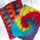 Tie Dye Cloth Diaper Burp Cloths Set of 2