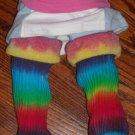Tie Dye Rainbow Baby Leg Warmers