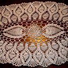 Any Color Tabletop Treasure 15 Inch X 26 Inch Oval Cotton Crochet Doily Yellow Blue White Pink