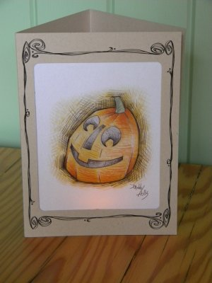 Pumpkin  Luminary / Style 1