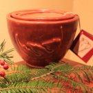 Nesting Bowls - Mission Red Glaze