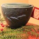 Nesting Bowls - Blue Green Glaze