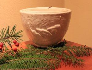 Nesting Bowls - White Glaze