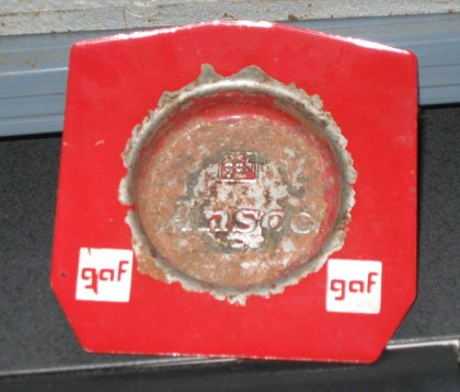 GAF View-Master ashtray factory insider item