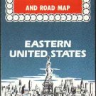 Vintage View-Master Travel Guide and Road Map 1960s