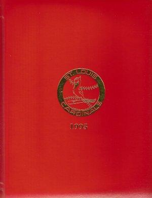 1995 St. Louis Cardinals Radio Affiliate Binder Calendar