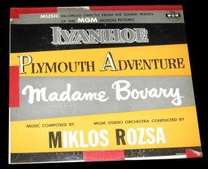 Ivanhoe | Plymouth Adventure | Madame Bovary Original Soundtrack Music