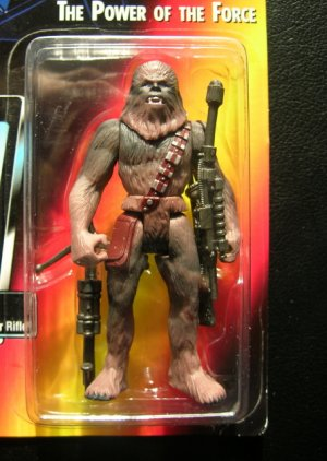Star Wars Power of the Force 1995 Chewbacca Mint on Card