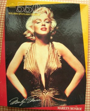 Marilyn Monroe Jigsaw Puzzle 550 Pieces Golden Spotlight Puzzle New In Box