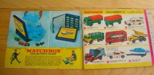 Matchbox Cars 1968 Collectors Catalogue Booklet