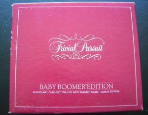 Trivial Pursuit Game Baby Boomer Edition