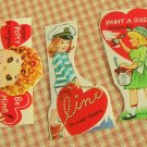 Vintage Valentines 1940s or 50s