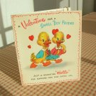 Hallmark Hall Brothers Vintage Valentine Card with clip