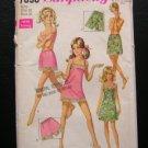 Lingerie slip panty vintage sewing pattern Simplicity 7693