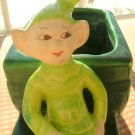 Treasure Craft Sprite Coach Planter St. Patrick's Day