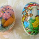1950s or 1960s Easter Eggs