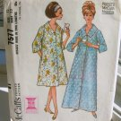 Vintage Sewing Pattern Misses Robe or Housecoat Mad Men McCall's 7577