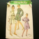 70s Dress Simplicity 9008 Vintage Sewing Pattern