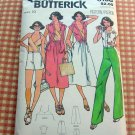 Halter Skirt  Pants Vintage Sewing Pattern Butterick 6108