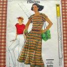 Vintage Vogue Sewing Pattern 9828 Top, Skirt, Pants
