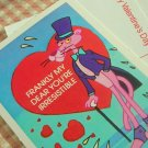 Pink Panther Vintage Valentines