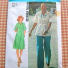 Tunic Dress Vintage Sewing Pattern Simplicity 7430