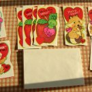 Vintage Unused Student Valentines Envelopes and Box