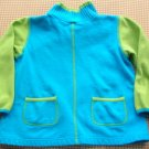 Hanna Andersson Turquoise Blue Knit Top Girls Size 120 Hannah Anderson