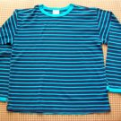 Hanna Andersson Blue Striped Knit Top Girls Size 130 Hannah Anderson