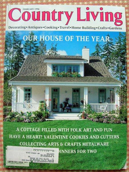 Country Living Magazine February 1996