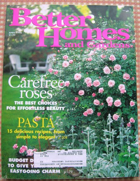 Better Homes and Gardens Magazine April 1996