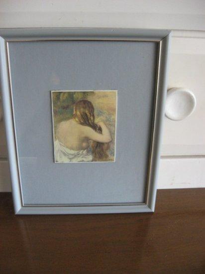 #4 Figurative Ladies Waiting Framed Artwork 1