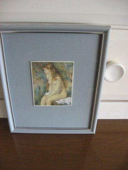 #7 Figurative Ladies Waiting Framed Artwork 4