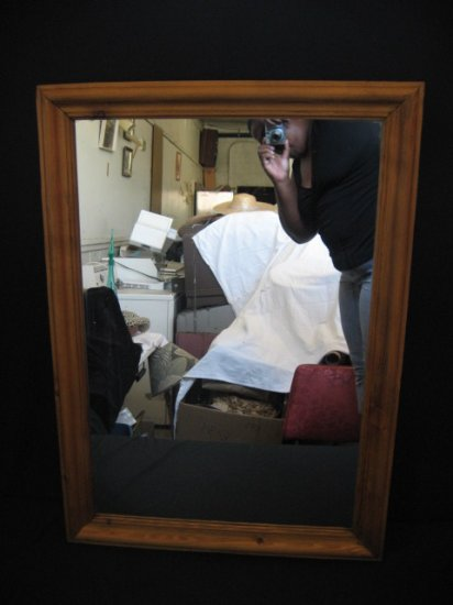 #10  Pine Framed Mirror
