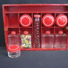 #2  Red Mini Candy Shop 10 pc Set